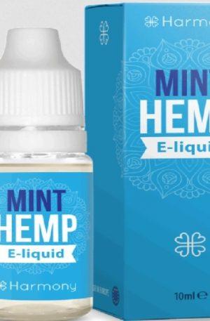 Buy Harmony E-liquid 600mg CBD UK – Mint (10ml)