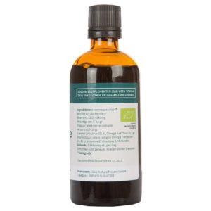 Buy Organic Hemp Seed Oil Plus CBD UK