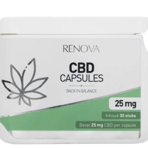 Buy Renova CBD Capsules UK 5% (25 mg)