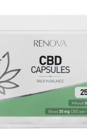 Buy Renova CBD Capsules UK 5% (25 mg)