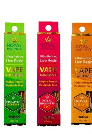 Buy Royal Highness Vape Cartridge UK