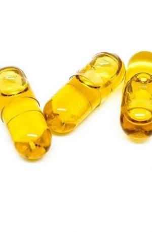 Buy THC Hemp Seed Oil Capsules UK 25mg (CO2)
