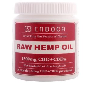 Buy UK Endoca CBD Capsules 15% (30 pcs)