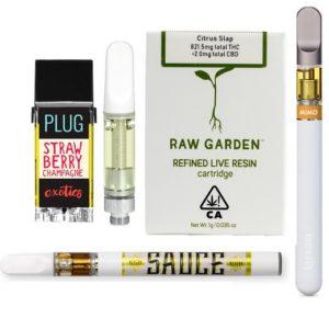 Buy Prefilled Vape Pen Oil Cartridges UK