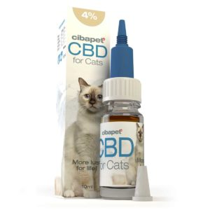 Cibapet CBD oil 4% for cats UK (10ml)
