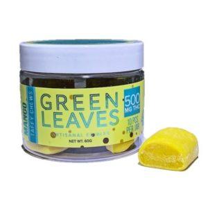 Green Leaves Mango Taffy Chews UK