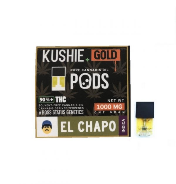 Kushie Gold Super High Potency JUUL Pods UK