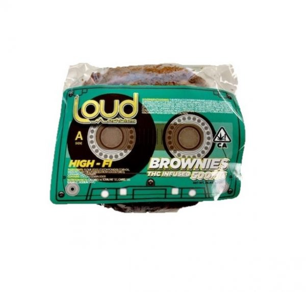 Loud Edibles THC Infused Brownie UK