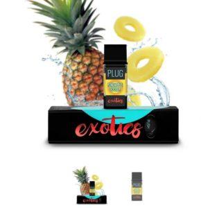 PLUGPlay Exotics Pineapple Cooler Vape Cartridge UK
