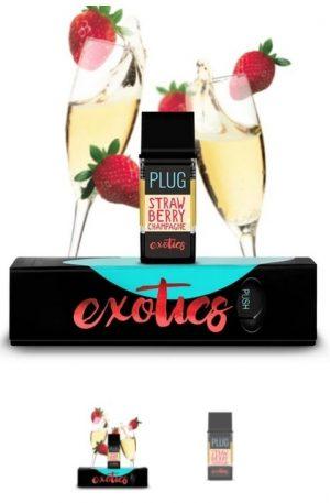 PLUGPlay Exotics Strawberry Champagne Vape UK