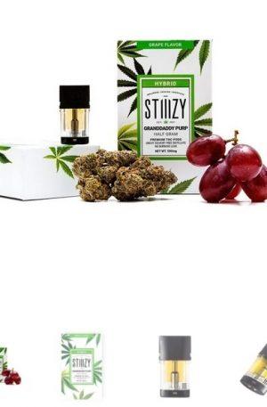Stiiizy Grandaddy Purp THC POD UK