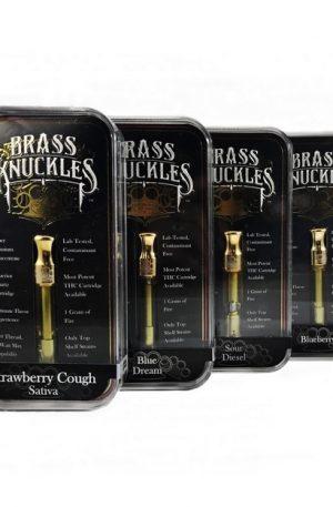 UK Brass Knuckles Vape Cartridges 85% THC