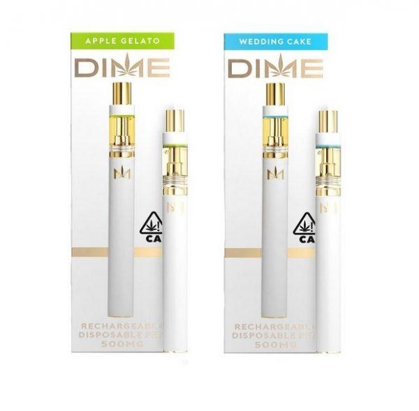UK DIME Disposable Vape Pen and Cartridge Set 95% THC
