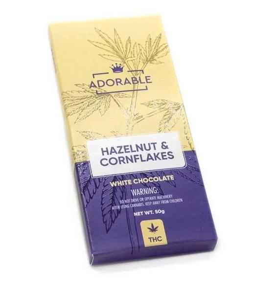 White infused THC Chocolate UK 200mg