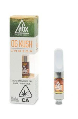 ABX OG Kush Vape Oil Cartridge UK