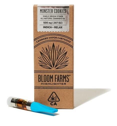 Bloom Farms Monster Cookies Cartridge UK
