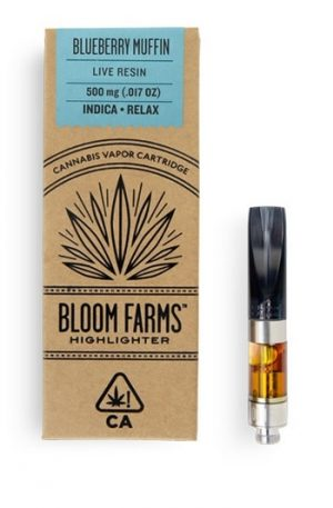 Blueberry Muffin Live Resin Cartridge UK