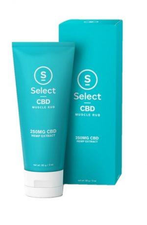 Buy Select CBD Muscle Rub UK