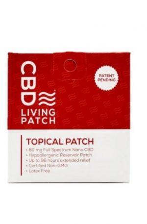 Living Topical Patch 60mg CBD Ireland