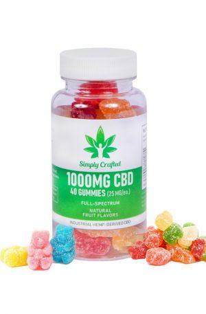 Buy 1000mg CBD Gummies - 40 Count UK