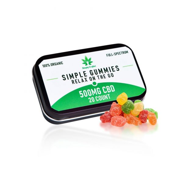 Buy 500mg CBD Gummies (20 Count) UK