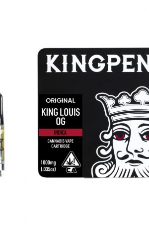 Buy Kingpen King Louis OG Cartridge UK