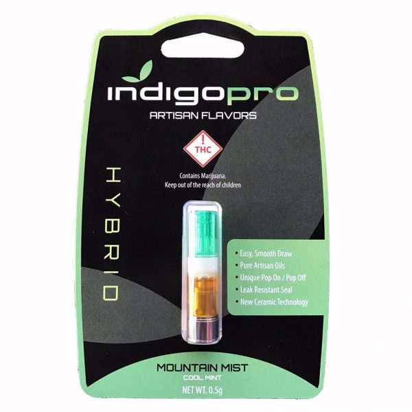 Buy Mountain Mist Distillate Vape Cartridge UK 0.5g