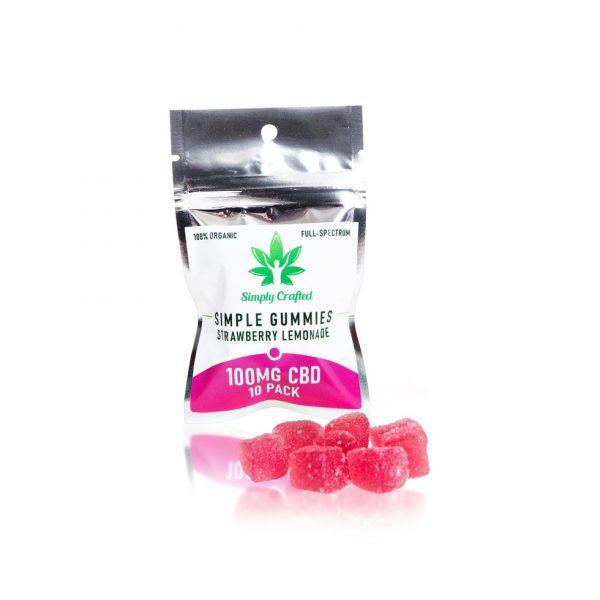 Buy Strawberry Lemonade CBD Gummies UK