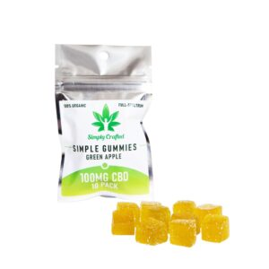 Green Apple CBD Gummies (10 Pack) UK
