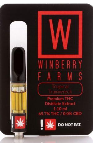 Tropical Trainwreck THC Distillate Cartridge UK 1g