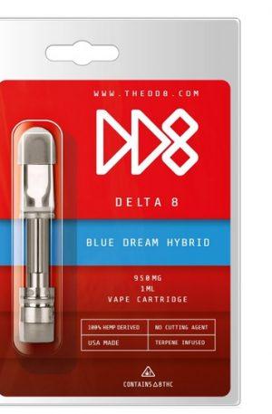 DD8 Delta 8 THC Cartridge - UK Blue Dream 950mg