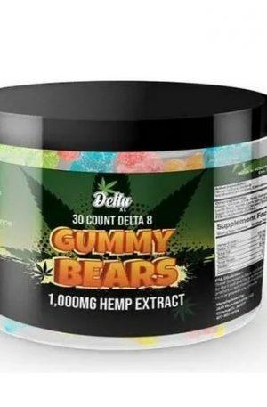 Delta 8 THC Gummy Bears UK 1000MG
