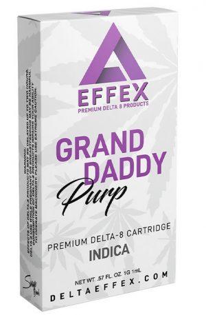 Grand Daddy Purp Delta 8 UK THC Cartridge