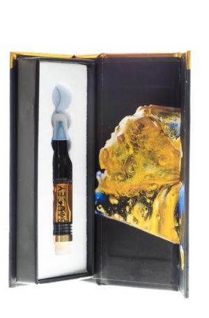 Saucey Delta 8 THC Vape Cartridge UK Key Lime