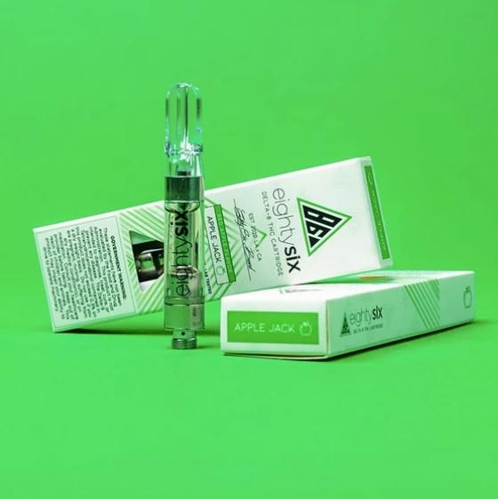 Apple Jack Delta-8 THC UK Vape Cartridge