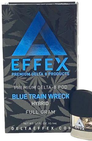 Blue Train Wreck UK Premium Delta 8 THC Pod