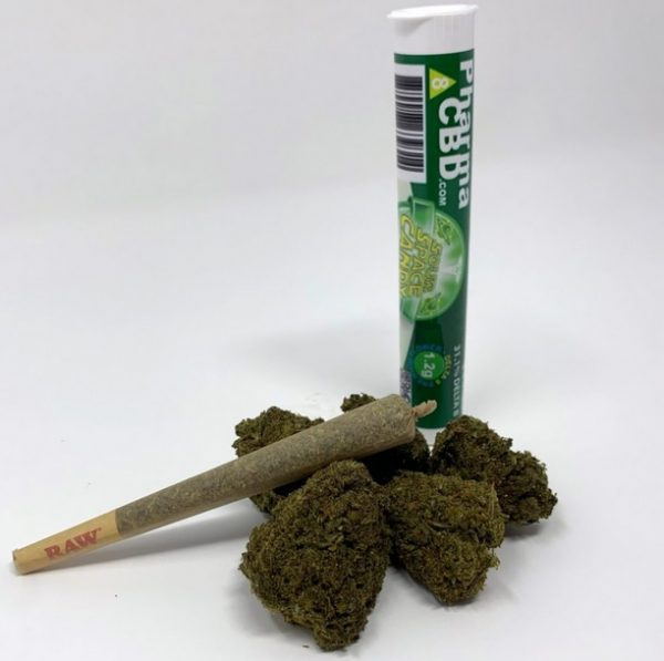 Delta-8-THC Infused Sour Space Candy UK Pre-Roll