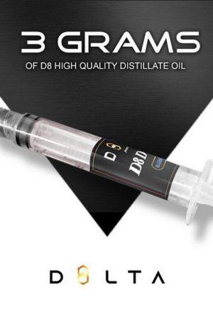 Delta 8 THC UK Distillate Oil