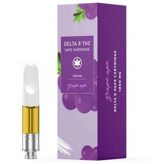 Grape Ape Delta 8 THC UK Vape Cartridge