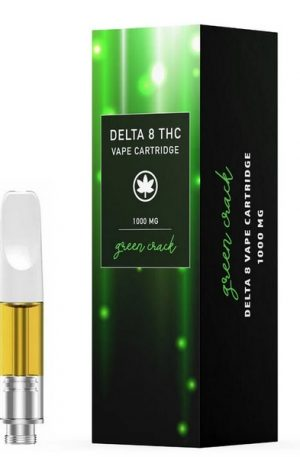 Green Crack Delta 8 THC UK Vape Cartridge