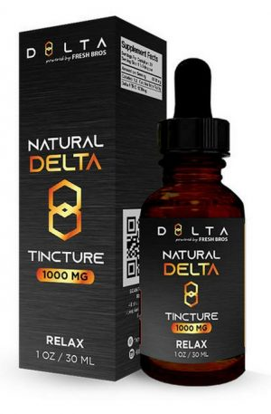 Natural Delta 8 THC UK Tincture Relax