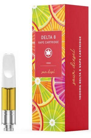 Sour Diesel UK Delta 8 THC Vape Cartridge