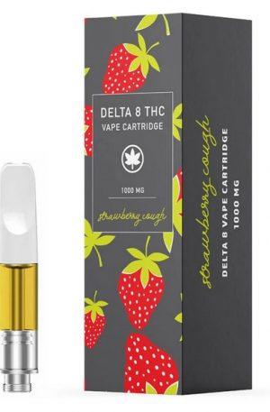 Strawberry Cough Delta 8 THC UK Vape Cartridge